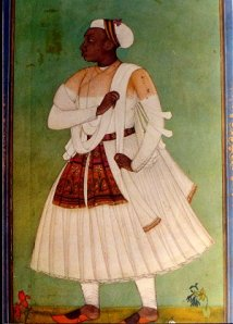 Painting of an African-Indian Merchant, 17th or 18th century